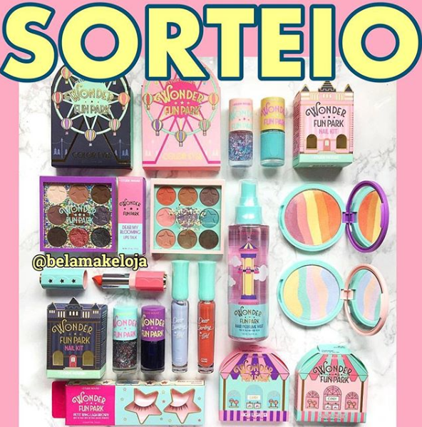 sorteio kit de makes