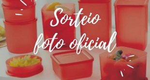 sorteio kit tupperware