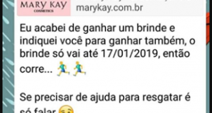 promocao falsa mary kay